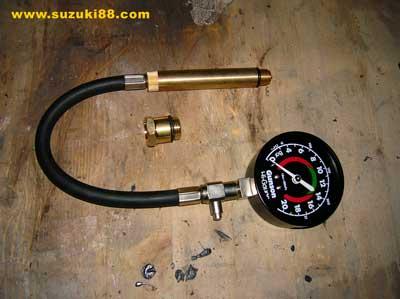 Medidor de compresion de cilindros